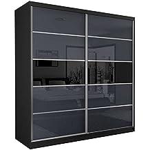 suchergebnis auf f r schwebet renschrank schwarz hochglanz. Black Bedroom Furniture Sets. Home Design Ideas
