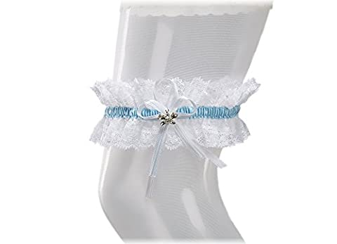 Bridal Wedding Lace Garter, Sparkling Crystals in BUTTERFLY Shape, Must