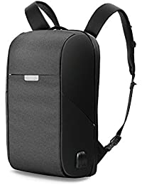 WIWU Water Resistant Travel Backpack with USB Charging Port for 17-inch  Laptop (Black 41e153dce6698