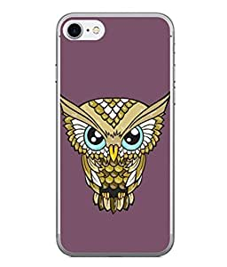 PrintVisa Designer Back Case Cover for Apple iPhone 6 Plus :: Apple iPhone 6+ (Animal Artbanner Beak Charming Bird Concept Beautiful Creative)