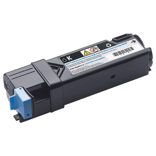 3000-Page Black Toner Cartridge for Dell 2150cn / 2150cdn / 2155cn / 2155cdn Color Laser Printers (N51XP)