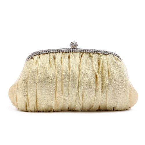 Pochette Donna Borsa Damara Shimmert Elegant Oro (oro)