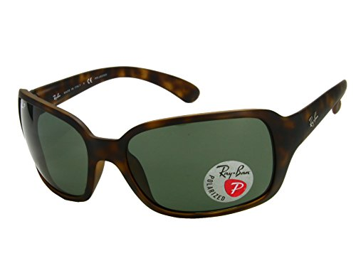 Ray Ban RB4068 894/58 Matte Havana / Brown Polarized Sunglasses