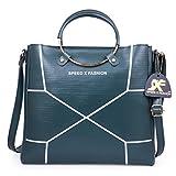 Speed X Fashion Women's Handbags And Shoulder Bag Combo (Green)