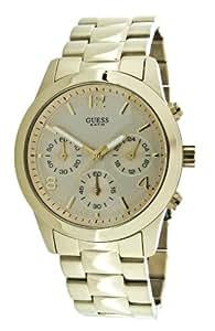 Guess - W13552L1 - Montre Femme - Quartz Analogique - Cadran Doré - Bracelet Acier Doré