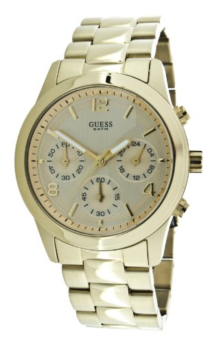 Guess Mini Spectrum W13552L1 – Reloj de mujer de cuarzo, correa de acero inoxidable color oro