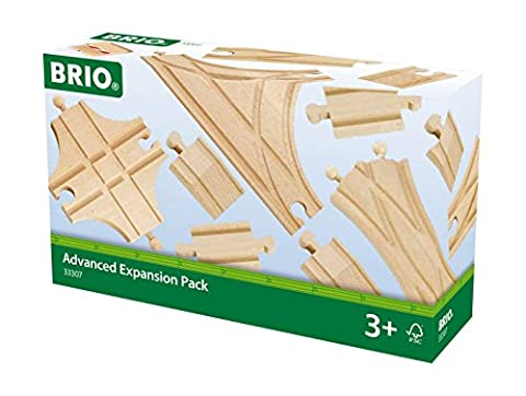 BRIO World Railway Track Expansion Pack - Advanced