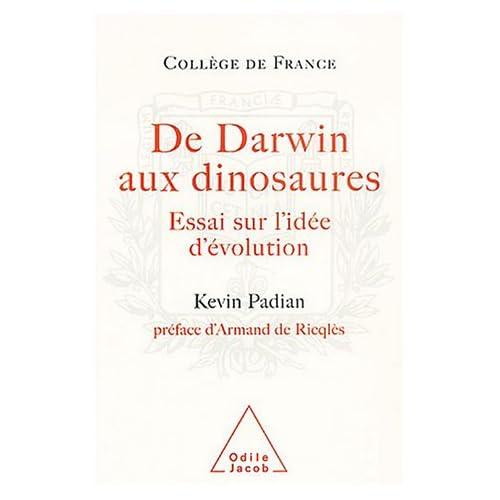 De Darwin aux dinosaures : Essai sur l'idée d'évolution