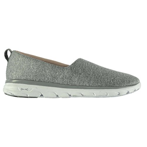Usa Pro Iolite Femme Chaussures Baskets Sneakers Enfiler Sport Running Fitness Gris