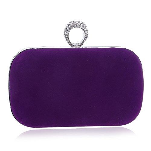 HAPPYTIMEBELT, Poschette giorno donna Purple
