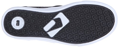 Globe Motley Mid Kids Daim Chaussure de Basket Black suede-woven