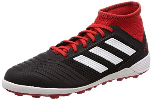 adidas Herren Predator Tango 18.3 Tf Fußballschuhe Schwarz (Negbás/Ftwbla/Rojsol 001) 45 1/3 EU