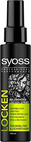 Syoss Belebendes Locken Spray , 2er Pack (2 x 120 ml)