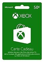 Carte Xbox Live de 50 EUR
