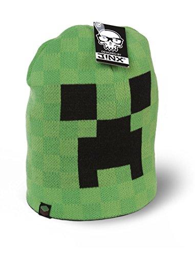 Minecraft Mütze Beanie S/M oder M/L Wintermütze (Minecraft Mütze Beanie)