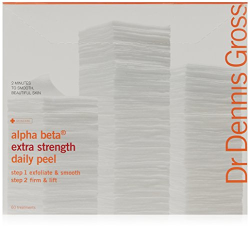 Dr Dennis Gross Lot de 60 peelings de soin formule extra forte Alpha Beta