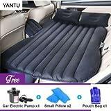 #2: Varniraj Car Inflatabale Bed | Two Pillows | (Light_Black)