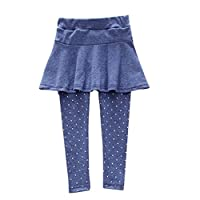 buy popular 609d4 dbce5 Amlaiworld Leggings Caldi Pantaloni Sportivi per Bambina Pantaloni con Gonna