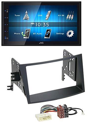 caraudio24 JVC KW-M25BT USB 2DIN Bluetooth MP3 AUX Autoradio für Subaru Legacy Outback ab 09