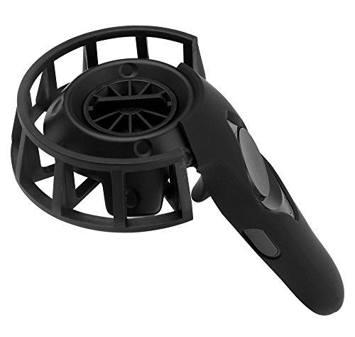 MIDWEC 2 Stück Aktualisierte Version Schutzrahmen und Silikon Schutzgehäuse für HTC VIVE Controller