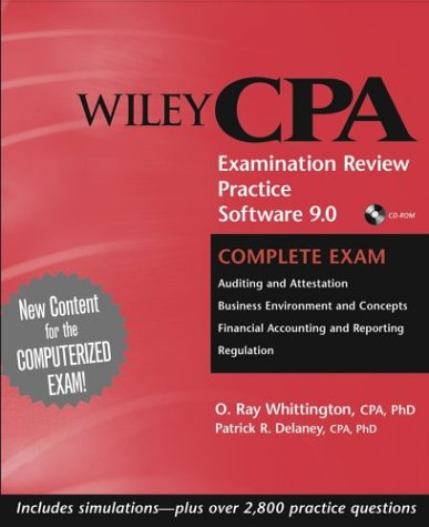 Wiley CPA Examination Review Practice Software 9.0