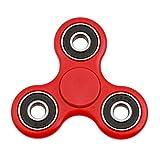 Hengsong Kinder Tri Fidget Hand Spinner Focus Kunststoff Spielzeug Mini Tasche Hundespielzeug Triangle Gyro Geschenk für Erwachsene