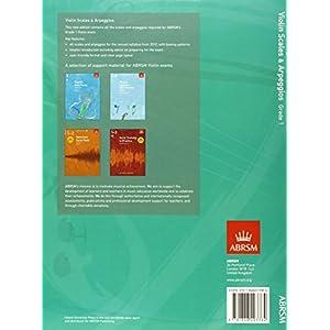 Violin Scales & Arpeggios, ABRSM Grade 1: from 2012 (ABRSM Scales & Arpeggios)