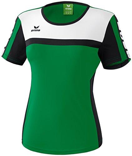 erima Damen T-Shirt 5-Cubes, Smaragd/Schwarz/Weiß, 38 Preisvergleich