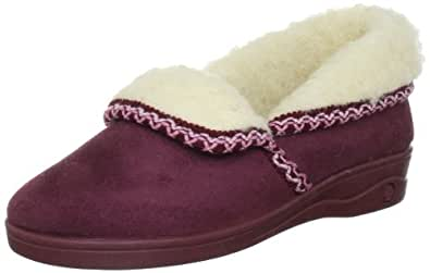 Lotus Celia, Women's Low-Top Slippers, Red (Wine), 4 UK (37 EU)