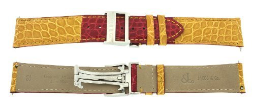 jacob-co-echtes-echt-alligator-rot-gelb-22-mm-watch-strap-fur-47