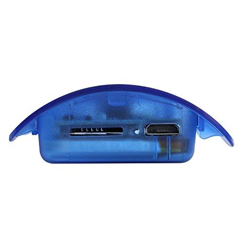 SANNCE Videocamera Nascosta Full HD 1080P Bottiglia d'Acqua Mini Camera Ricaricabile Manuale Italiano PDF, Motion Detection, Microfono Incorporato, supporta scheda SD fino a 32GB(non inclusa) - 7