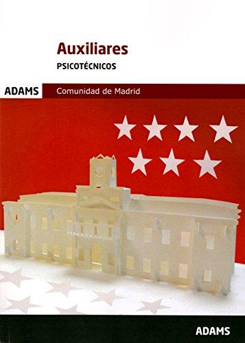 Psicotécnicos Auxiliares de la Comunidad de Madrid por Obra colectiva