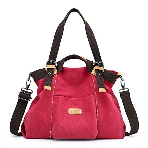 JUSTSELL ▾ Umhängetasche Damen, Leinwand Umhängetasche Designer Taschen Hobo Taschen Groß Canvas Schultertasche Damen Gross Kapazität Damentaschen Stoff Hobo Bag