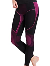 Damen Sport Thermo Hose Lang Seamless - von celodoro - Ski-, Thermo- & Funktionshose ohne störende Nähte - verschiedene Farben