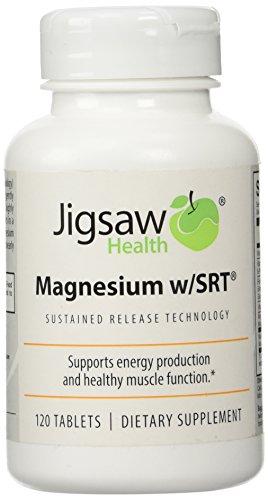 Jigsaw Health - Magnesium w/SRT 120 tabs