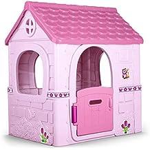 FEBER Pink Fantasy House - Casita Infantil, Color Rosa (Famosa 800012222)