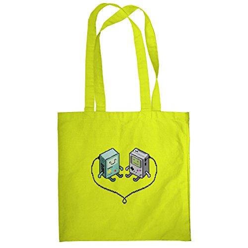 Texlab–Hand Held Love–sacchetto di stoffa Gelb