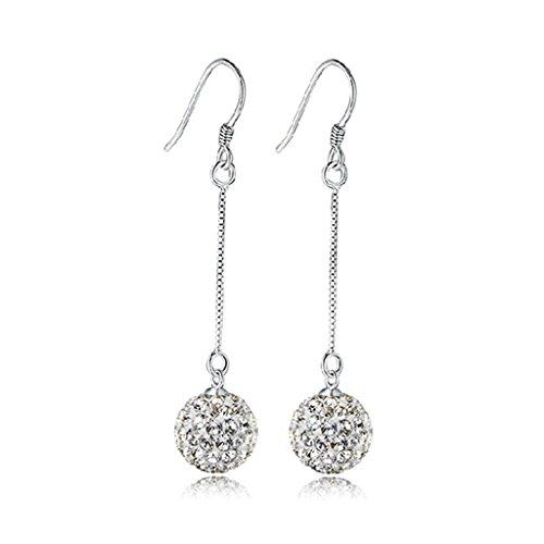 huntgold-1-pair-shining-diamond-round-ball-shape-dangle-earrings-women-fashion-jewelry-ear-hook