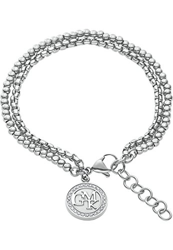 GMK Collection by CHRIST Damen-Armband Edelstahl 26 Zirkonia One Size, silber