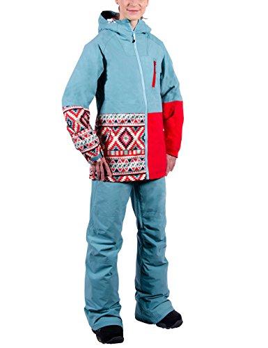 Nitro Damen Snowboard-Jacke Heavenly W Jacket 15, Seafoam/Kilim/Tom, M, 1151873227