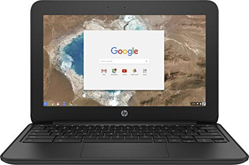 HP Chromebook 11 Celeron 11.6 inch SVA  eMMC Black