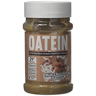 OATEIN High Protein Peanut Butter - Vegetarian Palm Oil Free Spread, Milk Chocolate