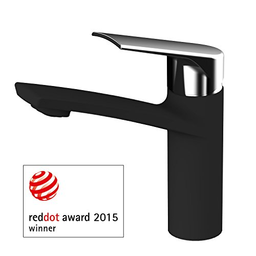 awa-sydney-red-dot-design-award-2015-washbasin-single-lever-tap-mixer-black-and-chrome