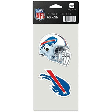 Buffalo Bills-Set di 2 adesivi da