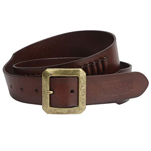 lier aus echtem Leder für Ammo-Halter, Vintage.17/.22 Kaliber ()