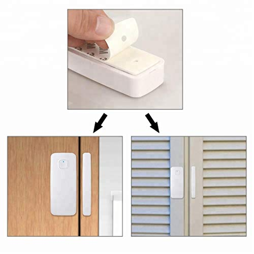 smart door window sensor kompatibel mit alexa google home. Black Bedroom Furniture Sets. Home Design Ideas
