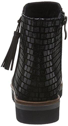 Marco Tozzi 25417, Bottes Motardes Femme Noir (BLACK COMB 098)