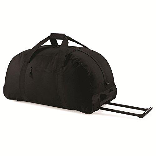 BagBase Classic Wheelie Holdall 1er Pack Black