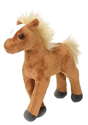Cuddlekins Plüschtier braunes Pferd, Kuscheltier Pony ca. 20 cm