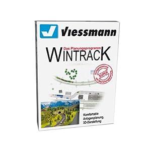 Viessmann 1006  - Wintrack 10.0 versión completa con 3D Importado de Alemania